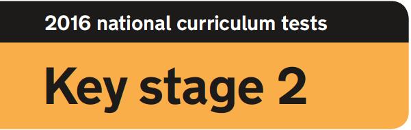 Key stage 2 banner (orange)